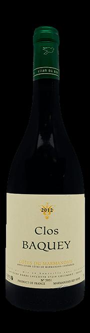 Garrada do vinho Clos Baquey