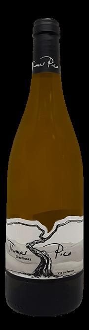 Garrada do vinho Thomas Pico Chardonnay