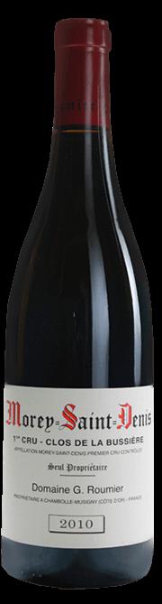 Garrada do vinho Morey St. Denis 1er Cru Clos de La Bussiere