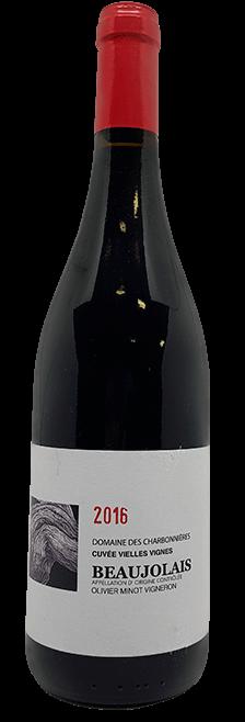 Garrafa do vinho Beaujolais Rouge