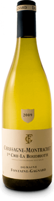 Garrada do vinho Chassagne Montrachet 1er Cru La Boudriotte