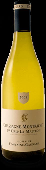 Garrada do vinho Chassagne Montrachet 1er Cru La Maltroie