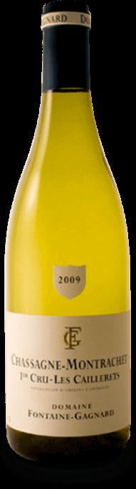 Garrada do vinho Chassagne Montrachet 1er Cru Caillerets