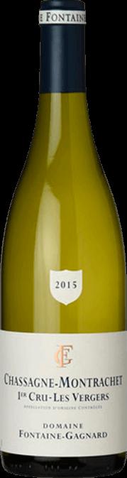 Garrada do vinho Chassagne Montrachet 1er Cru Les Vergers