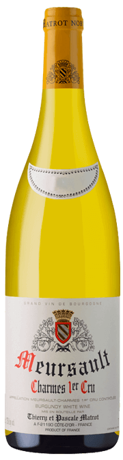 Garrada do vinho Meursault 1er Cru Charmes