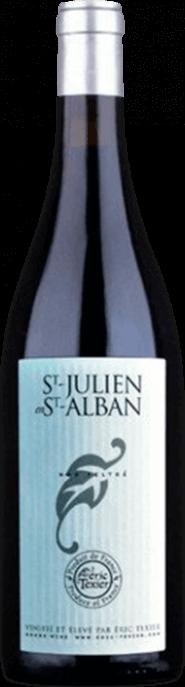 Garrada do vinho St Julien -en- St Alban