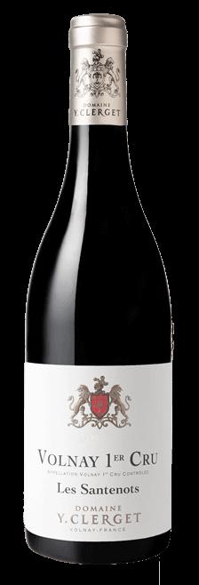 Garrafa do vinho VOLNAY 1ER CRU LES SANTENOTS