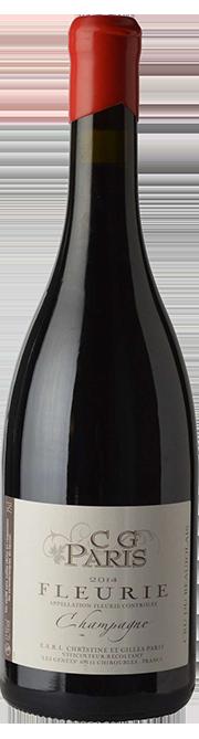 Garrada do vinho Fleurie Vieilles Vignes