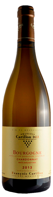 Garrafa do vinho Domaine Carillon Bourgogne Chardonnay