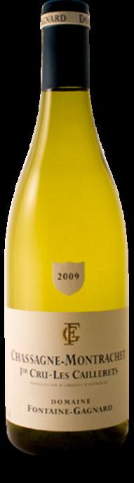 Garrada do vinho Chassagne Montrachet 1er Cru Les Caillerets