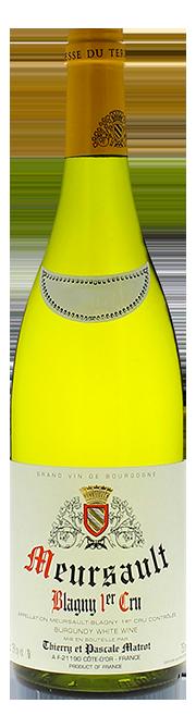 Garrada do vinho Meursault 1er Cru Blagny