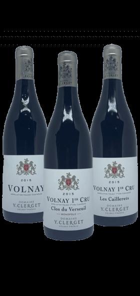 Garrada do vinho Terroir de Volnay por Y. Clerget