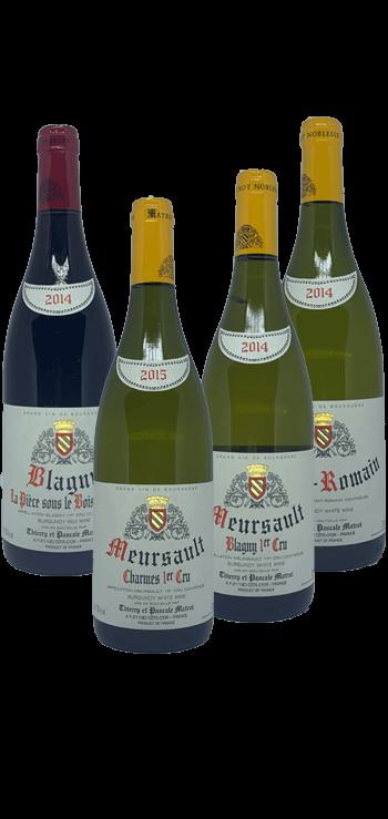 Garrafa do vinho A Cote de Beaune por Domaine Matrot