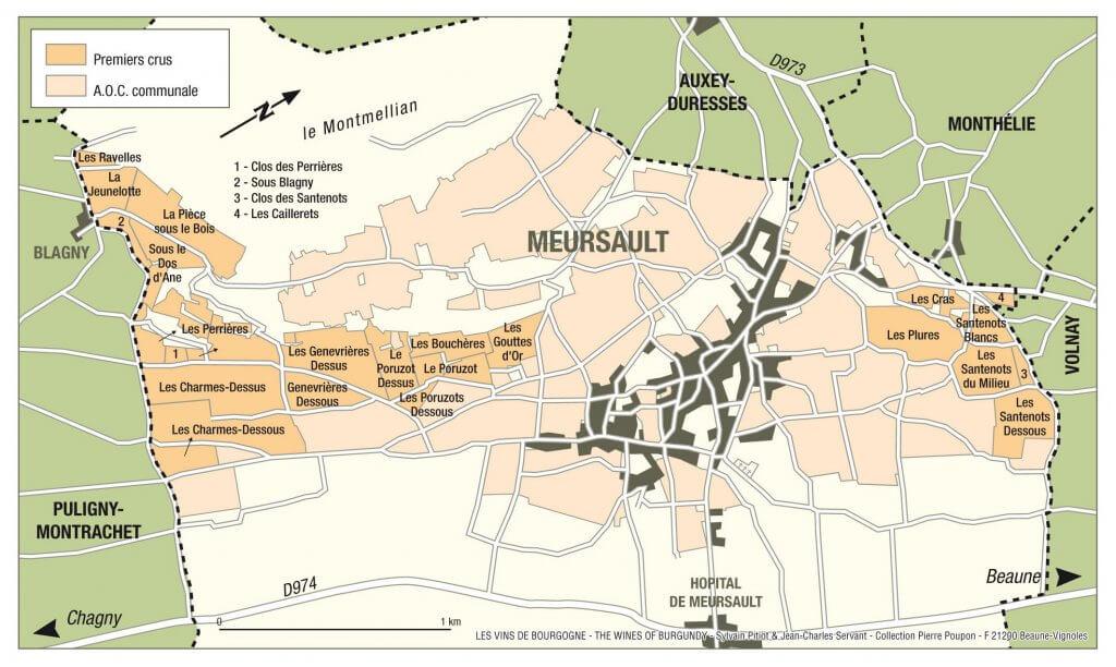 mapa da região vinícola