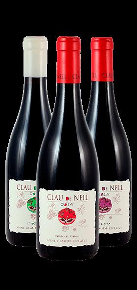 Garrafa do vinho O Vale do Loire por Anne-Claude Leflaive