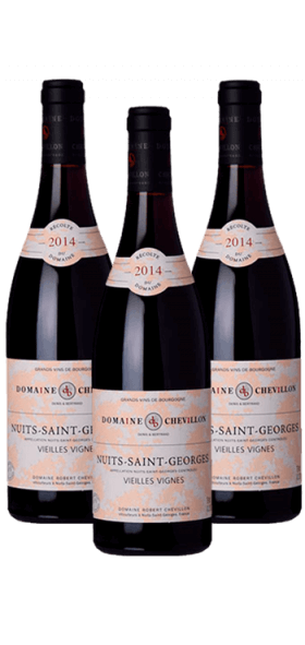 Garrada do vinho Nuits St Georges por Robert Chevillon