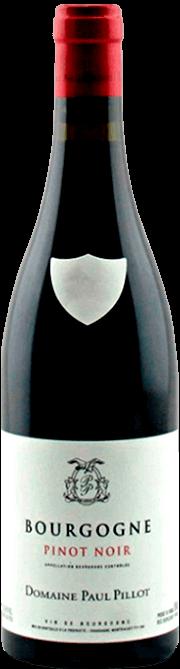 Garrafa do vinho Domaine Paul Pillot Bourgogne Rouge