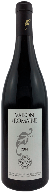Garrada do vinho Vaison La Romaine Rouge