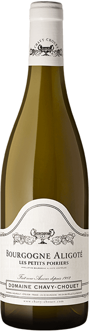 Garrada do vinho Bourgogne Aligote Les Petits Poiriers
