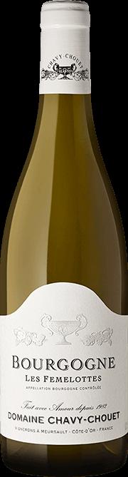 Garrada do vinho Bourgogne Blanc Les Femelottes