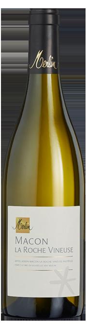 Garrada do vinho Macon Blanc La Roche Vineuse