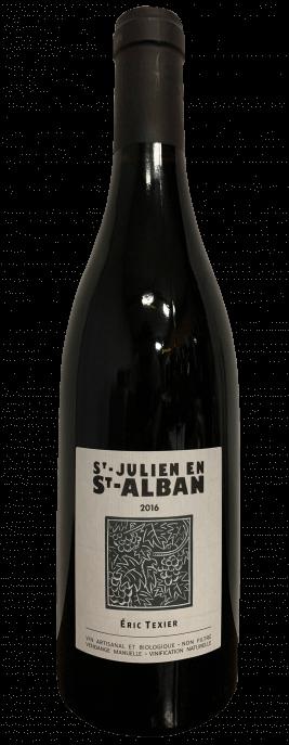 Garrada do vinho St Julien en St Alban