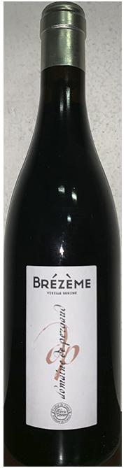 Garrada do vinho Domaine de Pergaud Brezeme Rouge