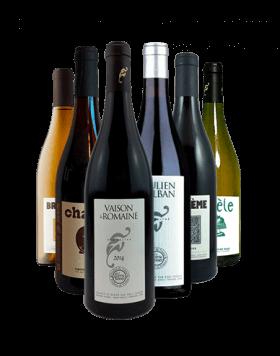 Garrada do vinho Cotes du Rhone por Eric Texier