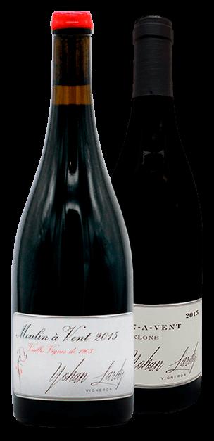 Garrafa do vinho Yohan Lardy, a Nova Geração de Beaujolais