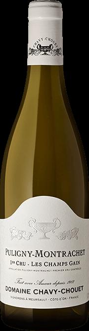 Garrada do vinho Puligny Montrachet 1er Cru Les Champs Gain 2018