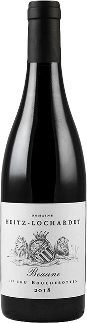 Garrada do vinho Beaune 1er Cru Les Boucherottes 2018