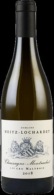 Garrada do vinho Chassagne Montrachet 1er Cru La Maltroie 2018