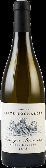 Garrada do vinho Chassagne Montrachet 1er Cru Morgeot 2018