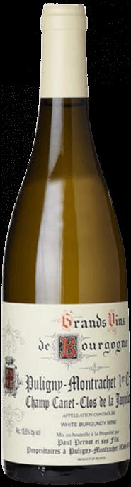 Garrada do vinho Puligny Montrachet 1er Cru Champs Canet Clos de la Jaquelotte