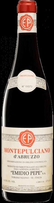Garrada do vinho Montepulciano d'Abruzzo 2012