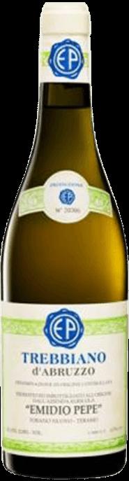 Garrada do vinho Trebbiano d'Abruzzo