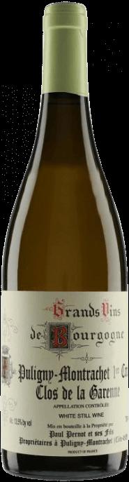 Garrada do vinho Puligny Montrachet 1er Cru Clos de la Garenne