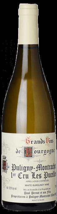 Garrada do vinho Puligny Montrachet 1er Cru Les Pucelles