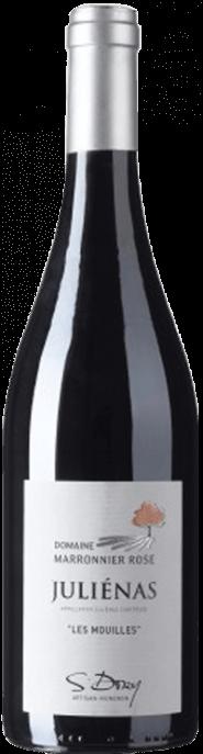 Garrada do vinho Julienas Les Mouilles