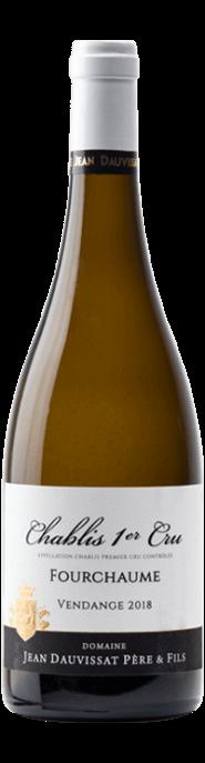 Garrada do vinho Chablis 1er Cru Fourchaume