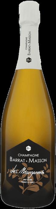 Garrada do vinho Les Margannes Extra Brut