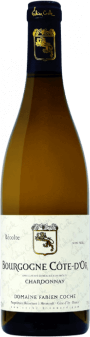 Garrada do vinho Bourgogne Cote d'Or Blanc