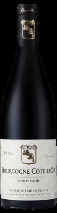 Garrada do vinho Bourgogne Cote d'Or Rouge