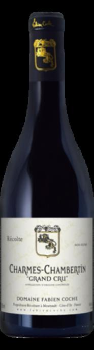 Garrada do vinho Charmes Chambertin Grand Cru