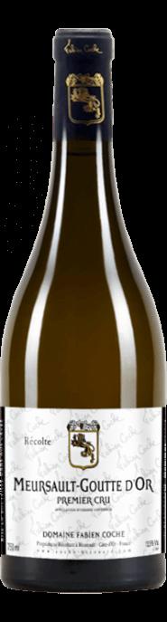 Garrada do vinho Meursault Goutte d'Or 1er Cru