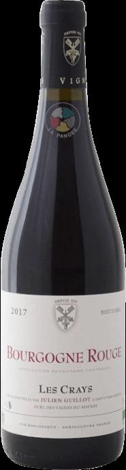 Garrada do vinho Bourgogne Rouge Les Crays