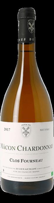 Garrada do vinho Macon Chardonnay Clos Fourneau