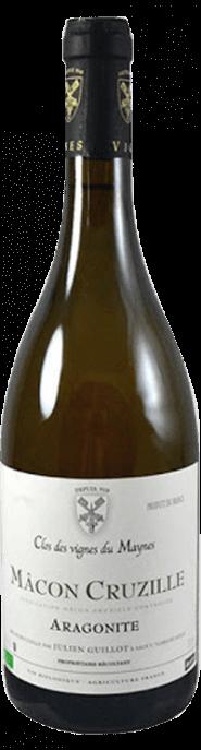 Garrada do vinho Macon Cruzille Aragonite