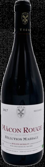 Garrada do vinho Macon Rouge Selection Massale